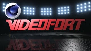 VideoFort | Cinema 4D: Super Bowl Ident Tutorial Part 1 |