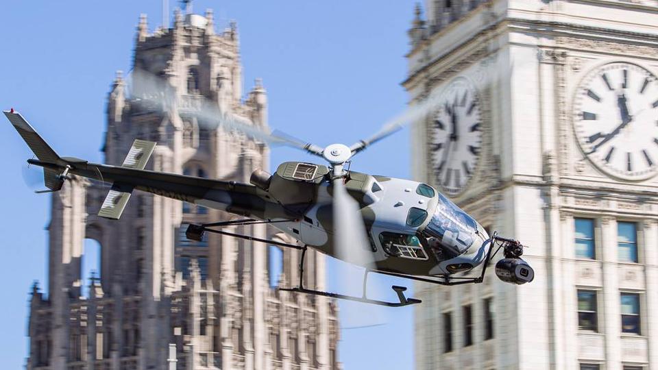 VideoFort Pilot filming Transformers 4 in Chicago