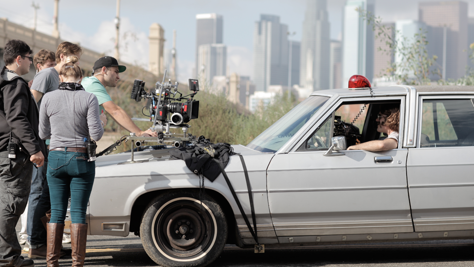 VideoFort Crew shooting a TV Commercial in Los Angeles
