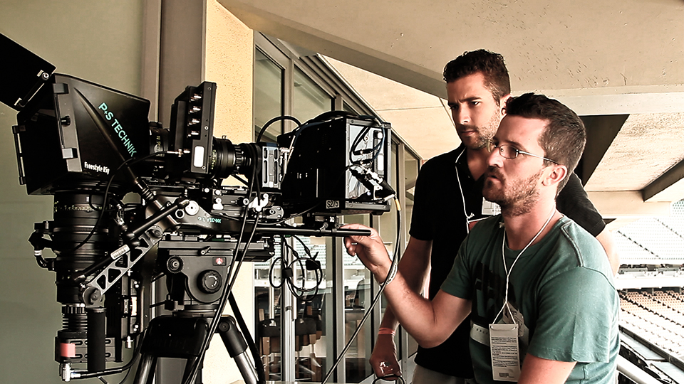 VideoFort creating content in Stereo 3D at Dodger Stadium