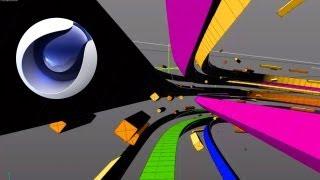 VideoFort | Cinema 4D: Abstract Scenes Tutorial |